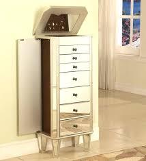 jewelry armoire furniture mirror white jewelry