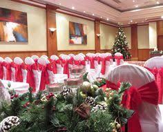 wedding ceremony set up in the european suite