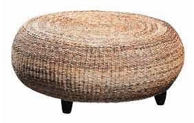 attractive living room design ideas with wicker ottomans amusing ideas for living room decoration design