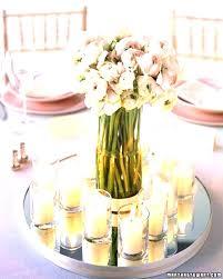mirrors for centerpieces white mirror weddings