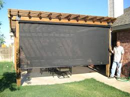 vinyl outdoor blinds roll up bamboo patio for doors shades plastic porch innovative sun shade exterior