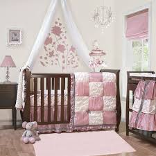 owl crib bedding baby girl comforter room sets pink and gold cot western the canada