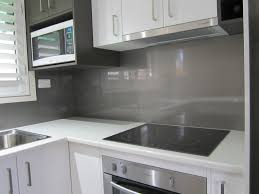 Splashback For White Kitchens Metallic Charcoal Colours Look Stunning Against White Kitchens