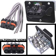 amazon com apdty 084514 blower motor resistor kit w wiring harness apdty 084514 blower motor resistor kit w wiring harness pigtail fits 1994 2004 chevrolet