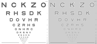 Age Related Macular Degeneration Eye Chart Moorfields Acuity Chart Novel Sight Test Detects Early Age