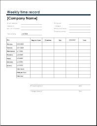 Employee Time Log Template Time Log Template Best Of Excel