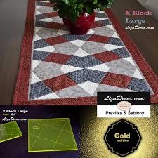 large templates patchwork template x block large gold rulers templates