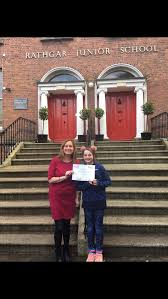 """Irish Hospice Foundation on Twitter: """"Well done to Pearl Hanson & her  fellow 6th Class students in Rathgar Primary School for raising an  incredible €680 for @RosabelsRooms They took part in a"""