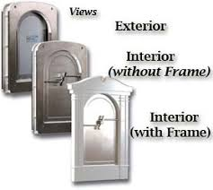 decorative dog doors. Note: Frame Snaps Onto The Main Unit Easily And Are Held In Place With Two Small Side Screws. Decorative Dog Doors I