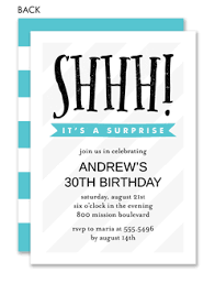 Birthday Party Evites Surprise Birthday Party Invitations Invitation Box