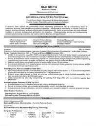 Cover Letter Sample For Mechanical Engineer Resume