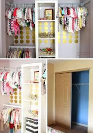 diy closet organizer ideas photo 2 of 5 small closet makeover via small closet makeover closet