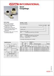 Gear Coupling Specification Chart Hydac Gear Couplings Hyquip