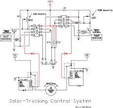 solar tracker schematics solar tracking control system