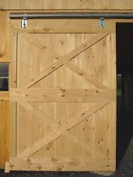 Overlapping Sliding Barn Doors Barn Door Construction How To Build Sliding Barn Doors