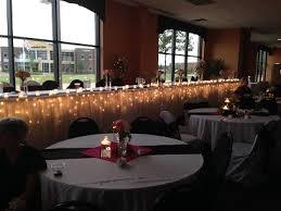 wedding table lighting. Head Table Lighting Only Wedding