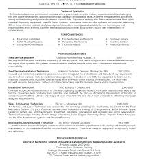 Sample Resume For Medical Laboratory Technician Sample Resume For Adorable Lab Technician Resume