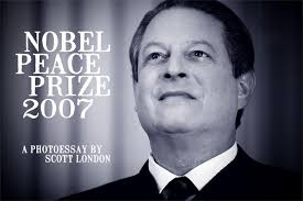 nobel peace prize a photoessay by scott london al gore