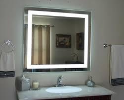 led magnifying bathroom mirror wall mounted