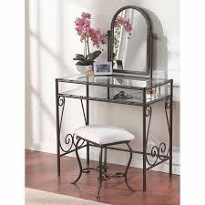 Clarisse Metal Bedroom Vanity Set Hayneedle