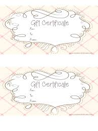 Gift Certificate Template Printable Travel Voucher Template Printable Sample Davidhdz Co