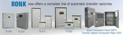 ronk electrical industries automatic transfer switches