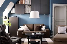 ... Living Room, A Small Living Room With IKEA Sofa And Chairs Coffee Table  Storage And ...