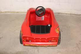 fisher power wheels lightning mcqueen electric car