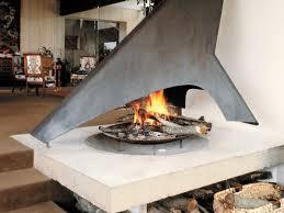 metal the metal hood over this fireplace