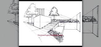 simple architecture design drawing. Interesting Design Landscape Drawing Ideas New Simple Architectural Drawings With  For Beginners How To Draw Inside Simple Architecture Design Drawing