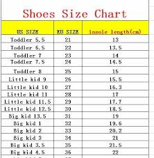 Wish Shoe Size Chart Kids Autumn Baby Boys Oxford Shoes For Children Dress Boots