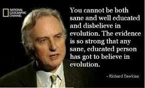 Evolution Richard Dawkins Quotes. QuotesGram via Relatably.com