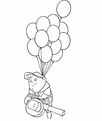 Ballonnen En Slingers Elegant Kleurplaat Clown Met Ballonnen
