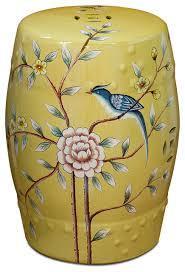 in stock porcelain garden stool