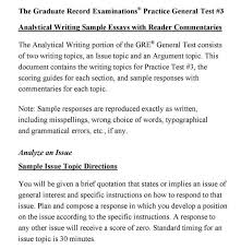 essays this is an example of a secondary source because it is an gre essays examples haadyaooverbayresort com gre analytical