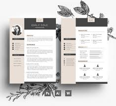 Best Solutions Of Creative Resume Indesign Template Unique