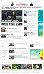 Newspaper Html Template Best Premium News Website Templates Free Newspaper Download Html