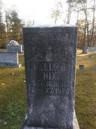 Felix Nix (1890-1926) - Find A Grave Memorial