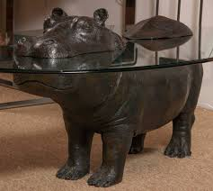 late 20th century hippo table by mark stoddart for