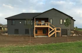 House With Black Trim Sherwin Williams Iron Ore Paint Color On Our House If You