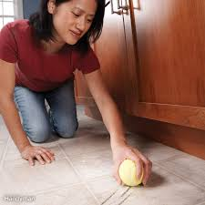 scuff mark eraser clean off shoe scuff marks from vinyl flooring with a clean dry tennis ball a light rub and heel marks are erased