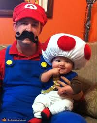 mario jr and toad chloe mario luigi and toad family