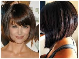 Short Bob Hairstyles With Side Swept Bangs A Selection Of Short ...
