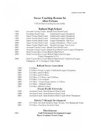 Soccer Coach Resume Example Exelent Soccer Coach Resume Examples Component Documentation 15