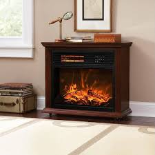 insert and freestanding electric fireplace heater log led flame effect ef 30c remote control built