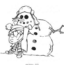 Snowman Outline Simple does a compare and contrast essay have a ...