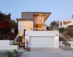 Steep Hillside Home Designs The Three Step House Built On A Steep Hillside In Los