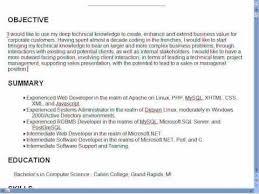 Web Developer Objective Resume Web Developer Resume Objective