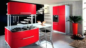 black and red kitchen designs. Black And Red Kitchen Designs Graceful Elegant White Decor With Accessories I