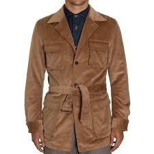 tan cord ring jacket